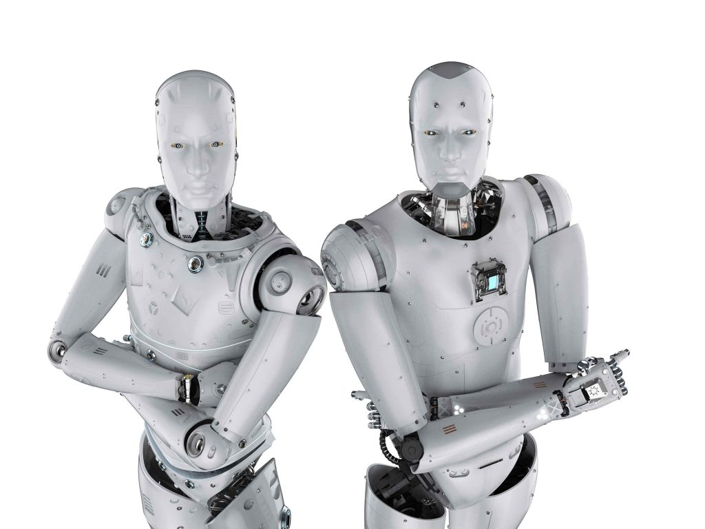 2 Robots for our Blog Page